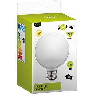 Goobay LED full-glas globe, 9 W, 330° beam angle GOOBAY 30536