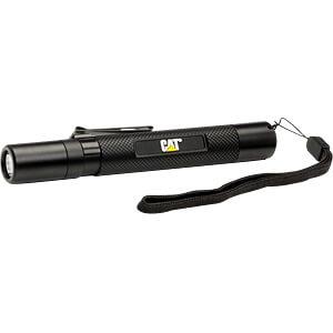 LED-Taschenlampe, 100 lm, schwarz, 2 x AA CAT CT12351P