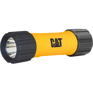 LED-Taschenlampe, 200 lm, schwarz, 3 x AAA CAT CTRACK