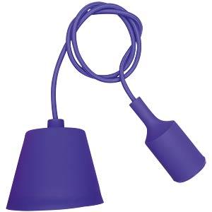 Lampenfassung Pendel, E27, Silikon, lila V-TAC 3483