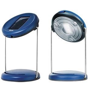 LED-Solarleuchte, Tischleuchte, blau, IP44, UNO 50 NIWA 350092