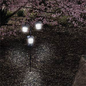 Solar LED light LULANI HEITRONIC 35294