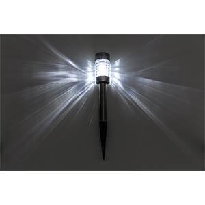 LED-Solarleuchte, Gartenleuchte, IP44, CALIDA HEITRONIC 35380
