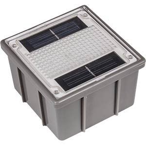 Solar LED-Pflasterstein Ground 1 HEITRONIC 35381