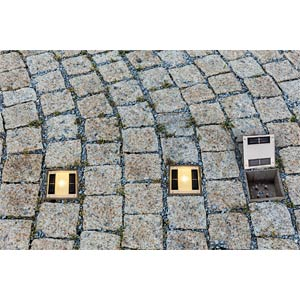 Solar LED-Pflasterstein Ground 1 HEITRONIC 35381