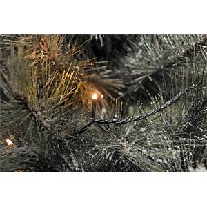 Micro LED Lichterkette, 80 bernsteinfarbene Dioden, 24V KONSTSMIDE 3611-800