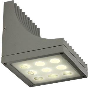 LED-Wandleuchte TYRA grau, EEK A++ - A HEITRONIC 36529