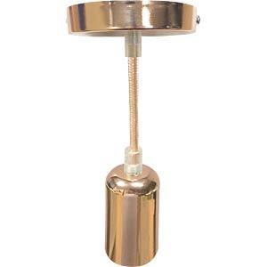 Hängeleuchte, 60 W, rund, gold V-TAC 3777
