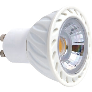 LED-Strahler GU10, 7 W, 425 lm, 3000 K, dimmbar GREENLED 3805