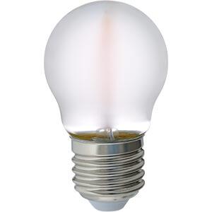 LED-Lampe E27, 4 W, 415 lm, 2700 K, Filament GREENLED 3813