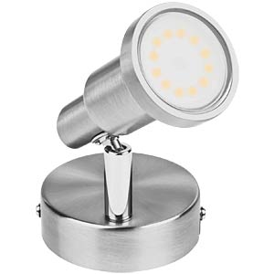 LED Spot, grau, 1x3W, EEK A+ OSRAM 4052899393646