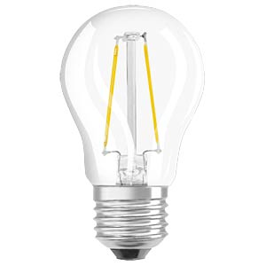 LED- Retrofit, P15, 1,3 W, E27, clear OSRAM 4052899400344