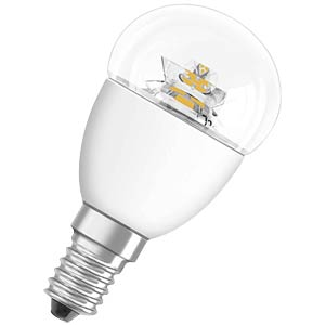 LED STAR CL P 40, 6 W, cl, EEC A+ OSRAM 4052899911963
