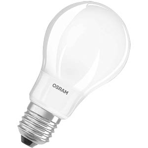 LED incandescent lamp 6W E27, matt, EEC A+ OSRAM 4052899936386
