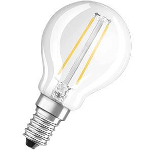 LED Lampe Tropfenform 2W E14, EEK A++ OSRAM 4052899936447