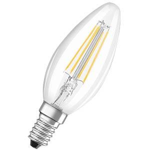 LED-Lampe E14 RETROFIT CLASSIC, 4 W, 430 lm, 2700 K OSRAM 4052899941557