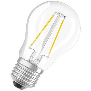 LED Lampe Tropfenform 2W E27, EEK A++ OSRAM 4052899941618