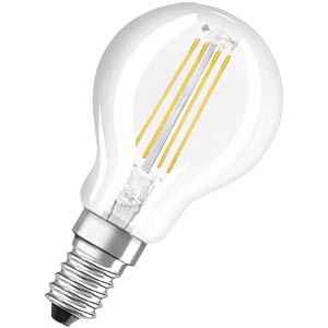 LED Lampe Tropfenform 4W E14, EEK A++ OSRAM 4052899941670
