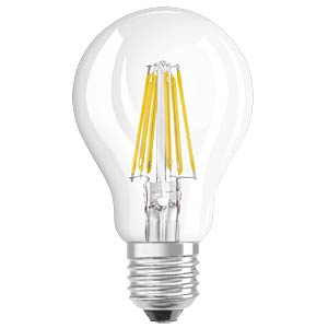 LED- Retrofit, A75, 8 W, E27, clear OSRAM 4052899961692