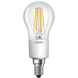 LED Retrofit DIM, 4,5 W, E14, klar, EEK A++ OSRAM 4052899961845
