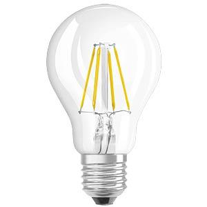 LED-Lampe E27 RETROFIT, 4,5 W, 470 lm, 2700 K, Filament, dimmbar OSRAM 4052899961920
