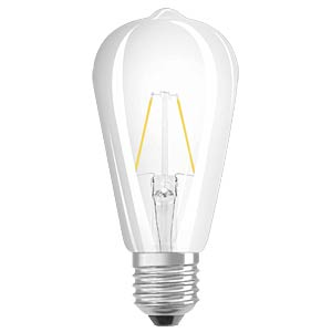 LED- Retrofit , ST64, 2 W, E27, clear OSRAM 4052899962088