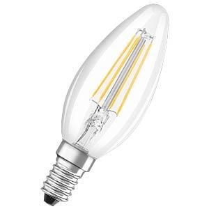 LED-Lampe E14, 4 W, 470 lm, 2700 K, Filament OSRAM 4052899972032