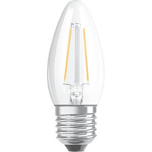 LED-Lampe SUPERSTAR E27, 5 W, 470 lm, 2700 K, Filament, dimmbar OSRAM 4058075107663