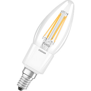LED-Lampe STAR CLASSIC E14, 6 W, 806 lm, 2700 K, Filament OSRAM 4058075107748