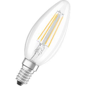 LED-Lampe BASE E14, 4 W, 470 lm, 4000 K, Filament, 3er-Pack OSRAM 4058075108004