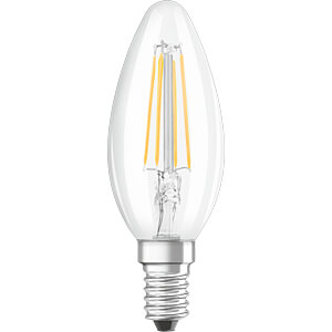 LED-Lampe BASE E14, 4 W, 470 lm, 2700 K, Filament, 3er-Pack OSRAM 4058075108028