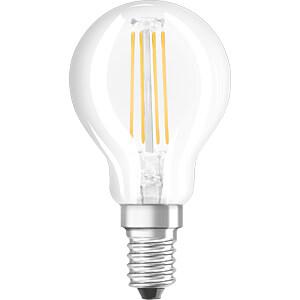 LED-Lampe STAR CLASSIC E14, 4 W, 470 lm, 4000 K, Filament OSRAM 4058075111851