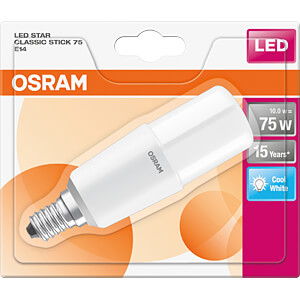 LED-Lampe STAR STICK E14, 10 W, 1050 lm, 4000 K OSRAM 4058075125728