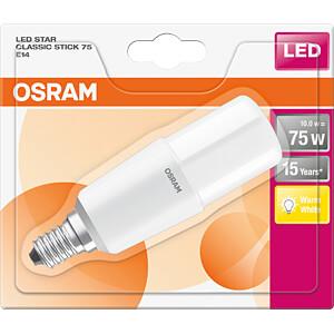 LED-Lampe STAR STICK E14, 10 W, 1050 lm, 2700 K OSRAM 4058075125742