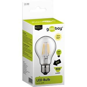 Goobay Filament-LED Birne, 6 W GOOBAY 44242