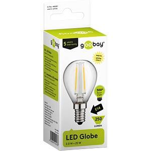 Goobay Filament-LED Globus, 2 W, EEK A++ GOOBAY 44243
