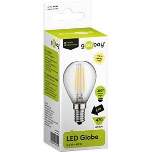 LED-Lampe E14, 4 W, 470 lm, 2700 K GOOBAY 44244
