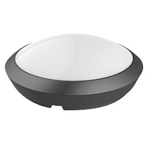 V-TAC LED-Leuchte, incl. Mikrowellen-Bewegungssensor, schwarz, 4 V-TAC 4971