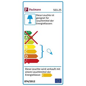 Pflanzenleuchte Set, 2x10W, 230/12V, SW, EEK C - D PAULMANN 50325