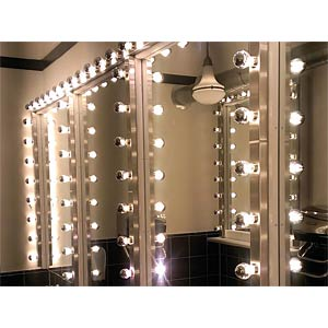 LED candle, clear 3.5 W - mirror head, EEC A SEGULA 50370