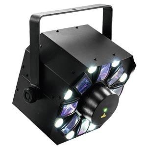LED/Laser-Lichteffekt, Hybrig Laserflower, 40 W, DMX EUROLITE 51741080