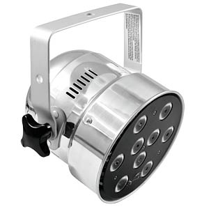LED-Scheinwerfer, PAR-56 Spot, 9 x 8 W QCL, 65 W, silber EUROLITE 51913612