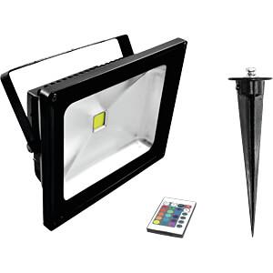 LED IP FL-30 COB RGB FB + Spieß STEINIGKE SHOWTECHNIC GMBH 51914684