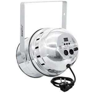 LED-Scheinwerfer, PAR-64 Spot, 10 mm RGBA, 27 W, silber EUROLITE 51916400
