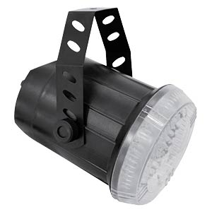 LED-Lichteffekt, Stroboskop, Techno Strobe 500 Sound, 22 W EUROLITE 52200835