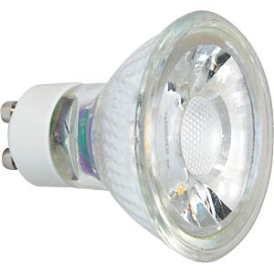 GreenLED Lampe GU10 MCOB 50° 6W 400lm/90° 3000K GREENLED 3573