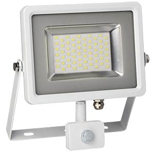 LED-Floodlight with motion sensor - 30 W, white, 3000 K V-TAC 5757