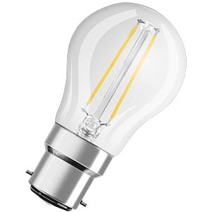 LED-Lampe Retrofit, B22d, 2,1 W, 250 lm, 2700 K, 76 mm OSRAM 4052899961944