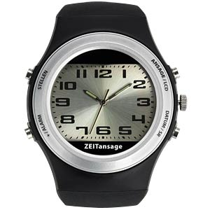 Sprechende Armbanduhr TFA DOSTMANN 60.6000.01