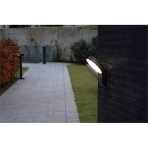 LED walllamp, anthracite ECO LIGHT 6163 S GR
